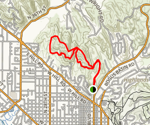 Quail - Harrison Hollows Loop Map