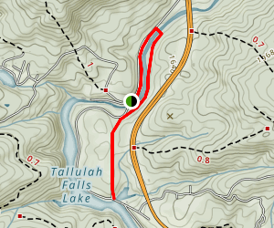 Tallulah Falls Rail-Trail Map