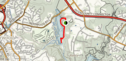 Needwood Trail Map
