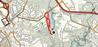 Westside and Blue Heron Loop Trail Map