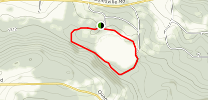 Nathaniel Cole Park Lakeview Trail Map