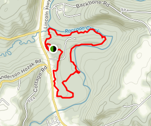 Wildflower Reserve Trail Map