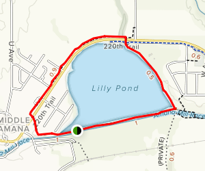 Lily Pond Trail Map
