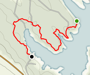 Buzzards Roost Campground Trail Map