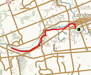 Thames River Trail Map