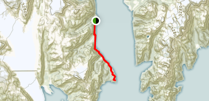 Caines Head Trail Map