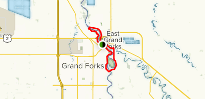 Greater Grand Forks Greenway Map