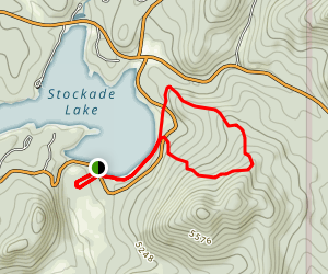 Stockade Lake Trail Map
