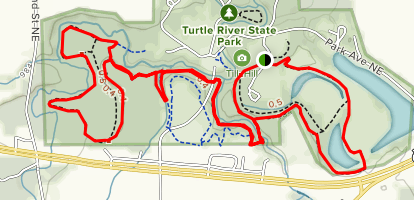 Turtle River Nature Trail Map