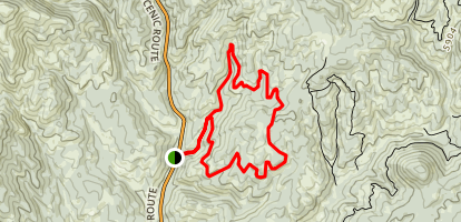 Skyline Loop Map