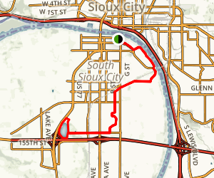 South Sioux City Trail Map