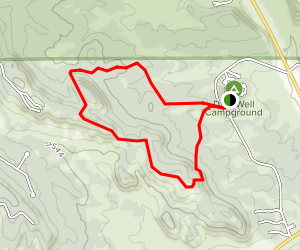 Datil Well Campground Loop Trail Map