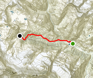 Annapurna Trek: Manang to Tilicho Base Camp Map