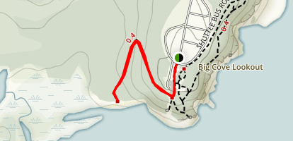 Demoiselle Beach Trail Map