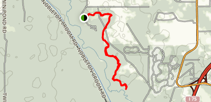 Hog Island Trail Map