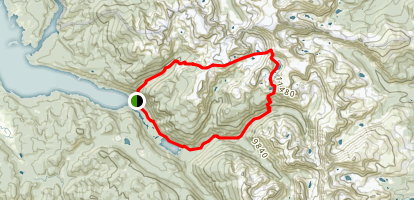 Hell Canyon Loop Map