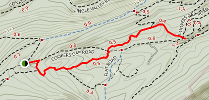 Shitaka Trail Map