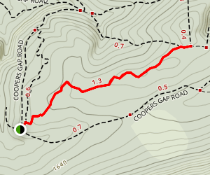 Dutch Alvin Trail Map