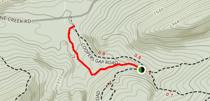 Brush Ridge Extension Trail Map