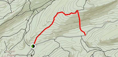 Long Mountain to Colon Falls Trail Map