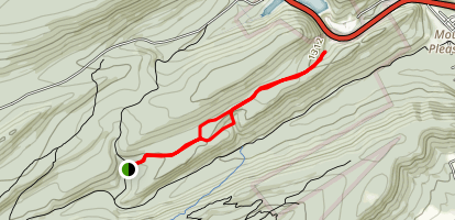 Spruce Mountain Trail Map