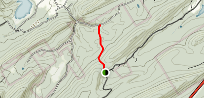 Deaf Run Trail Map