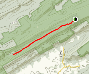 Greens Valley Trail Map