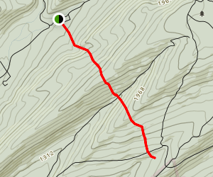 Owl Gap Trail Map