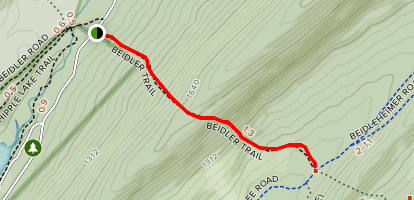 Beidler Trail Map