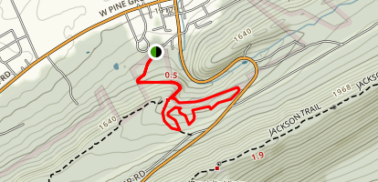 Harry's Trail Map