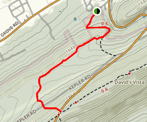 Doc Detour Trail Map