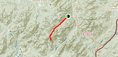 Mount Haystack Trail Map
