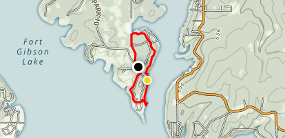 Three Forks and Fitness Trails Map