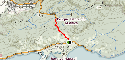 Ballena Trail Map
