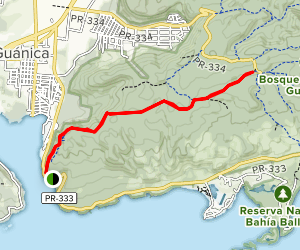Fuerte Trail Map