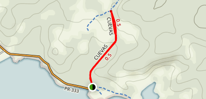 Cueva Trail Map
