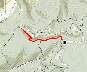 High Knob Via Loyalsock Trail Map