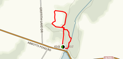 Lee Meadow and Swamp Forest Loop Trail Map