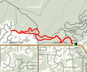 Randy's Loop Trail Map