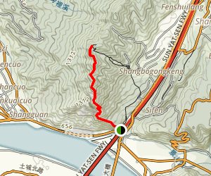 Zhonghe/Hunglodei Hiking Trail Map