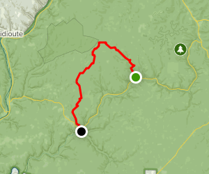 North Country Trail: Henrys Mills to Kellettville Map