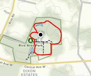 Riva Area Park Map