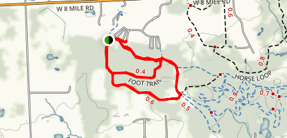 Maybury Short Loop Map