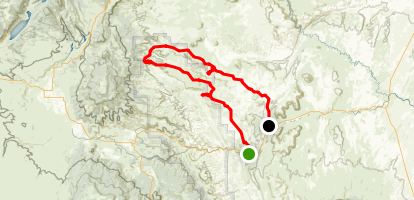 Cathedral Valley Trail Map