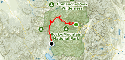 Trail Ridge Road Map