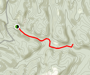 Tea Kettle Falls Trail Map