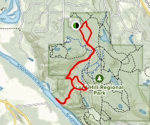 Meet Cutter to River Trail Loop Map