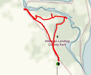 Hileman Landing Loop Map