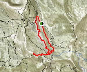Monte Grondilice  Map