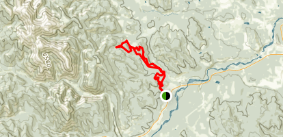 Tom Snow and Ridgeback Loop Map